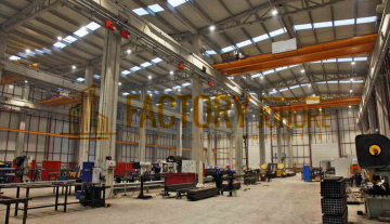 Kulai Factory For Sale with 3x Overhead Crane