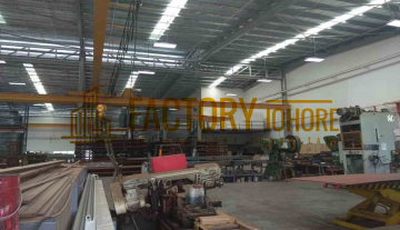 Kulai Factory For Sale with 2 Overhead Crane Power Supply 1000ampere