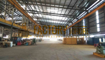 Nusajaya Factory For Sale with 12x Overhead Crane Big Production Area