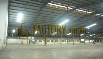 Pasir Gudang Big Factory For Sale Built Up 246,931sqft