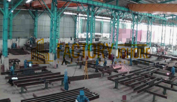 Pasir Gudang Factory For Rent with Overhead Crane High Tension Power Supply