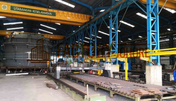 Pasir Gudang Factory For Sale 9x Overhead Crane 5 acres