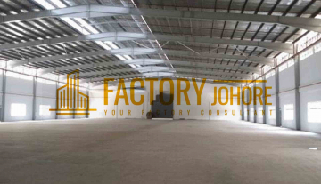 Senai Factory For Sale with 6 acres land area