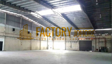 Senai Detached Factory For Sale with Floor Loading 10kN/M2