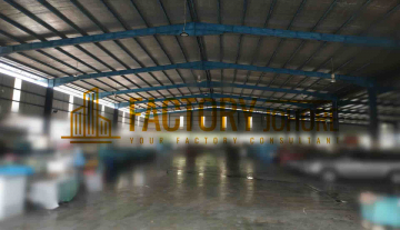 Senai Factory For Sale with 9 acres Land