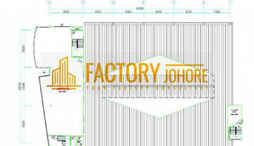 Tampoi Factory For Sale with 53,000sqft
