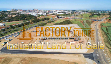 Senai Industrial Land For Sale 20.5acres