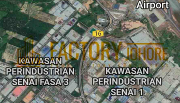 Johor Freehold Industrial Land For Sale 7 Acres