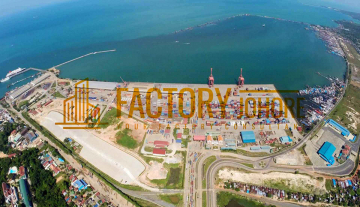 Senai Industrial Land For Sale 20 acres