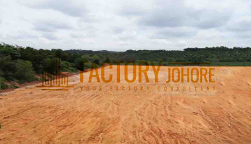 Senai 11 Acres Industrial Land For Sale Ready Infrastructure